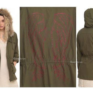 Licensed cool BBC Orphan Black HELENA ANORAK Jacket faux fur REMOVABLE Hood LIMITED Hot Topic