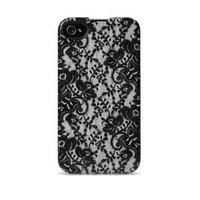 Agent18 ForceShiel 9526 d Limited for iPhone 4/4S - Face Plate - Retail Packaging - Julia/Black Lace