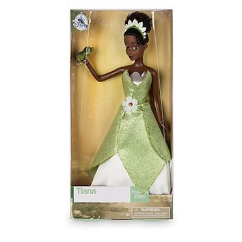 Disney Store Princess Tiana with the Frog Classic Doll New with Box