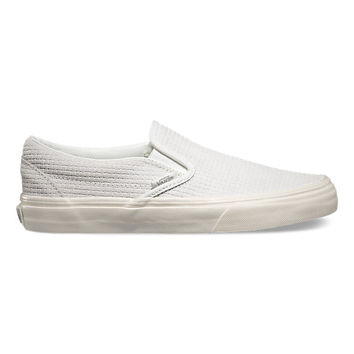 Braided Suede Slip-On | Shop Womens Shoes at Vans