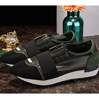 BALENCIAGA yellow fashion casual shoes