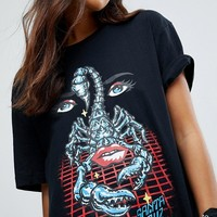 Santa Cruz T-Shirt With Scorpion Graphic at asos.com