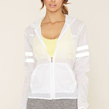 Active Varsity-Striped Jacket | Forever 21 - 2000152411