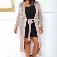 High Roller Plus Size Cardigan Tops+ GS-LOVE