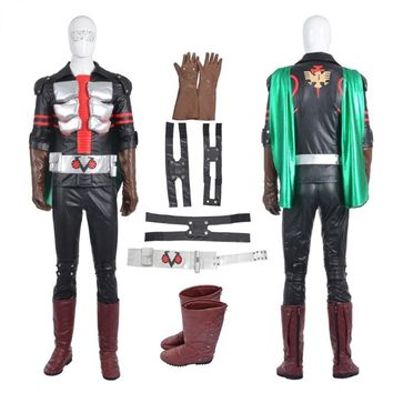 Masked Rider Ichigo Cosplay Costume Roleplay Cosplay Men's Jacket Mask Set Custom Made