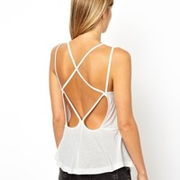 ASOS Swing Cami with Strap Detail