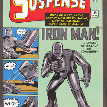 Iron Man Tales of Suspense #39 Poster 24x36