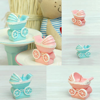 Free Shipping New Style Cute Baby Car Candles Christmas Party Wedding Favor Gifts Creative Scented Candle