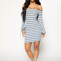 Lil' Baby Dress - Blue