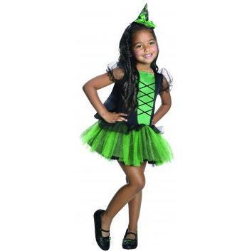 Girls Wizard of Oz Wicked Witch of the West Tutu Costume