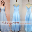 2014 Bridesmaid Dress,Halter Sexy Backless Prom Dress,Bridal Dress,Wedding Dress,Homecoming Dress,Formal Dress,Long Chiffon Dress,Blue Dress