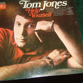 Vintage Vinyl Record Tom Jones Help Yourself 1968 Album  - My Girl Maria - Help Yourself - Set Me Free -I Can't Break The News To Myself