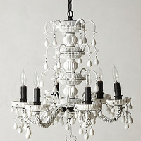 Achromatic Chandelier