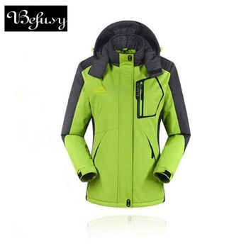 High Quality Women Winter Ski Jackets Outdoor Hunting Wind Stopper Skiing Climbing Snowboarding Waterproof Lady's Sport Jackets