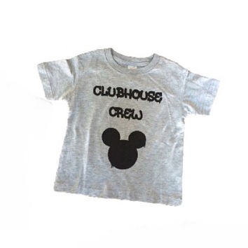 Mickey's Crew Mickey Mouse Clubhouse baby/kids tee