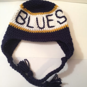 St. Louis Blues Hat/ Beanie - Any Color(s) & Size