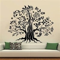 Wall Decals Tree Decal Vinyl Stickers Nursery Bedroom Window Door Room Home Decor Art Murals Ah161