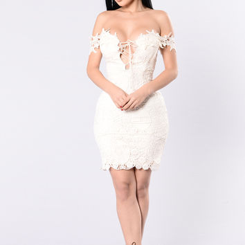 Thorne Dress - Cream