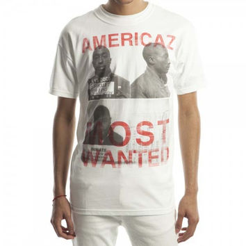 Tupac Americaz Most Wanted T-Shirt Large