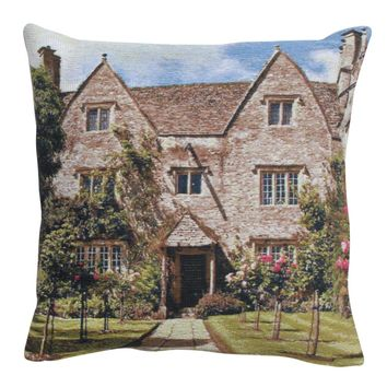 William Morris House  European Cushion
