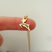 "Severus Snape ""Always"" Doe Patronus Necklace - Harry Potter & The Deathly Hallows Inspired Geekery"