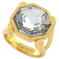 Women's Louise et Cie 'Bleecker Street' Stone Ring - Gold/