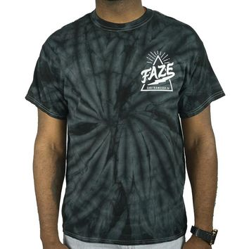 FAZE Logo Tee in black widow