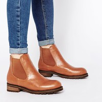 London Rebel Chunky Chelsea Boots