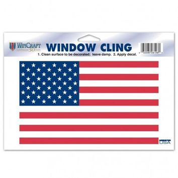 American Flag Decal 4.5x8.5 Static