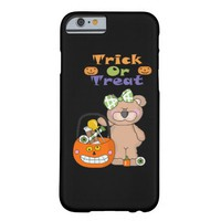 Trick Or Treat Little Girly Bear iPhone 6s Case Barely There iPhone 6 Case