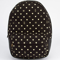 Carrot Company Cat Dots Backpack Black One Size For Women 23782110001