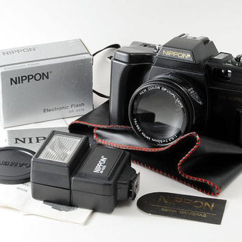 Nippon AR-4392 35mm Point and Shoot Film Toy Camera Outfit - Fully Working