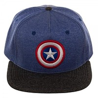 Marvel Captain America Two Tone Cationic Snapback