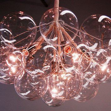 jumbo bubble chandelier by pelle by jeanpelle on etsy - Bubble Chandelier