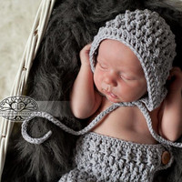 Set of 2 Crochet Patterns for Ripple Baby Bonnet and Ripple Baby Pants - multiple sizes - Welcome to sell finished items
