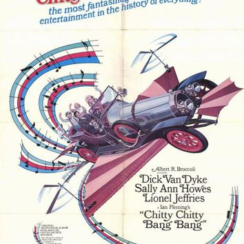 Chitty Chitty Bang Bang 27x40 Movie Poster (1969)