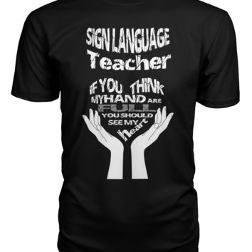 Sign language teacher shirt Premium Unisex Tee