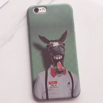 I'm not a Horse Case for iPhone 7 7Plus & iPhone se 5s 6 6 Plus Best Protection Cover +Gift Box-160