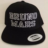 BRUNO MARS snapback one size fits all
