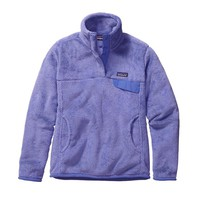 Patagonia Women's Re-Tool Snap-T® Fleece Pullover | Ploy Purple - Violet Blue X-Dye