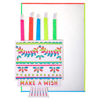 Meri Meri Make A Wish Birthday Card