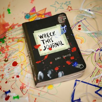 Wreck This Journal | Firebox.com - Shop for the Unusual