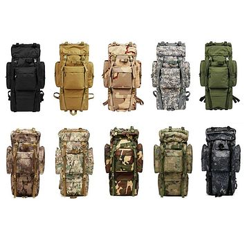 80L Outdoor Military Style Tactical Backpack