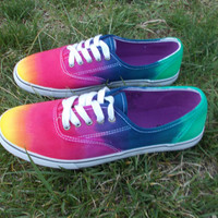 Vans Tie Dye Canvas shoes