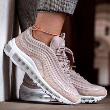 Best Online Sale Nike Air Max 97 Premium Silt Red Running Shoes Prm Pink White Sport S
