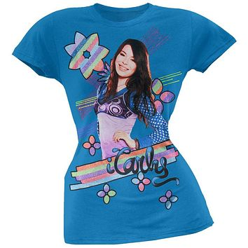 iCarly - Rainbow Stripe Girls Youth T-Shirt