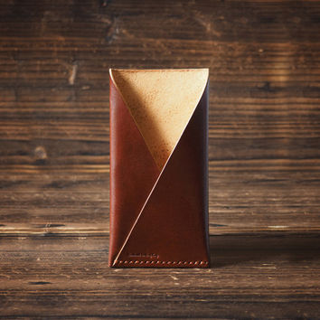 Leather iPhone Case #Whiskey Brown