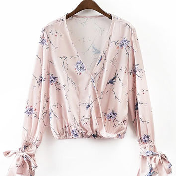 Cupshe Light The Day Floral Top