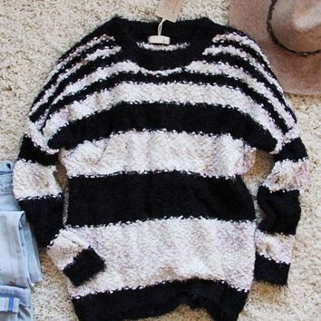 Layla Cozy Stripe Sweater
