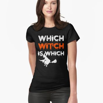 'Which Witch Is Which' T-Shirt by Dewa Pamungkas